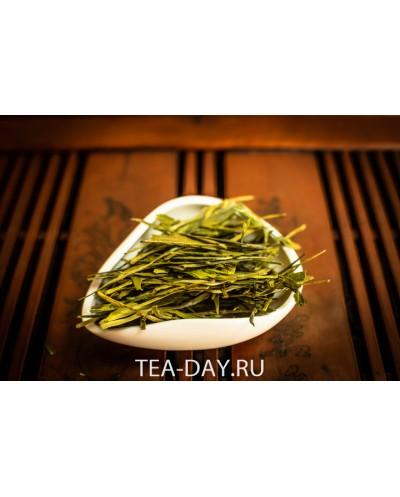 Чай зеленый Китай «ЛУН ЦЗИН» ( Колодец дракона) цена за 100 г.