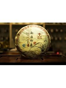 Пуэр (шу)  Гу И  « Мэнхай Иньсян» блин 357 грамм