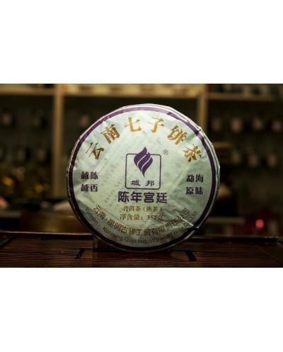 Пуэр (шу)  Гу И  « Чень Нянь Гунтин » блин 357 грамм