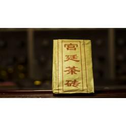 Пуэр плитка (шу) «Мей Гуа Ден Ча» 100 г.