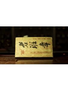 """Шу пуэр кирпич """"Лао Бан Чжан"""" (250 гр.) Чайная фабрика """"Dazhaijinzhai"""" 2012 г."""