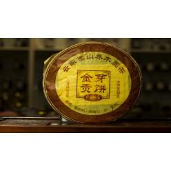 Пуэр (шу) «Тин Я Гон Бин» блин 357 грамм